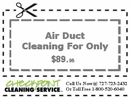 Air Duct cleaning coupon 89.95